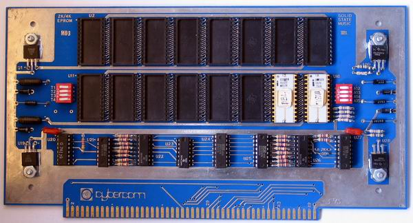 The MITS Altair 8800a EPROM card which is actually a Solid State Music card