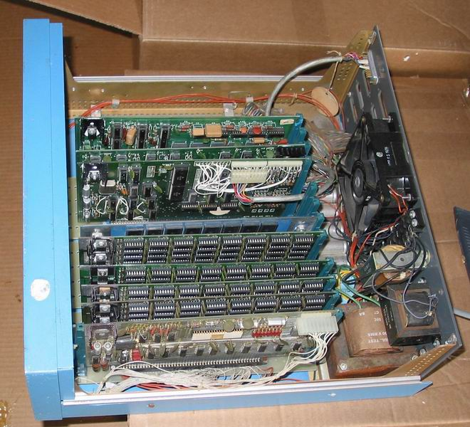 Inside of the Altair 8800 as delivered