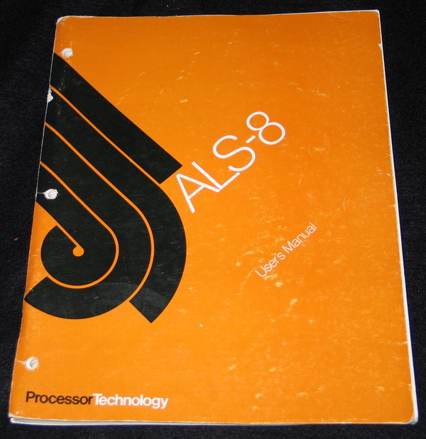 The ALS-8 manual