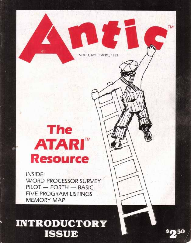 Antic Magazine, Volume 1, Number 1