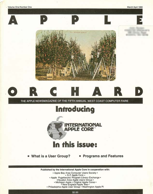Premier Issue of Apple Orchard Magazine