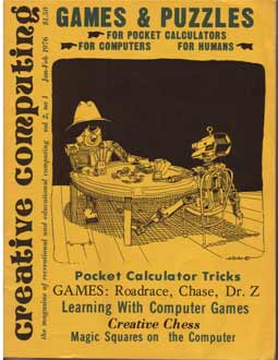 An early issue of Creative Computing