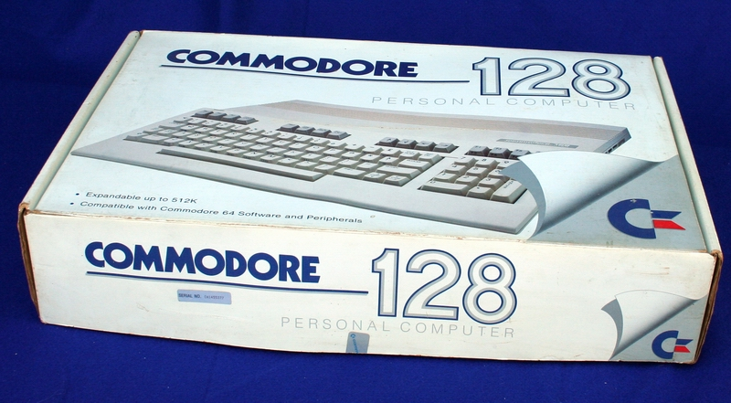 The Commodore 128 Computer box