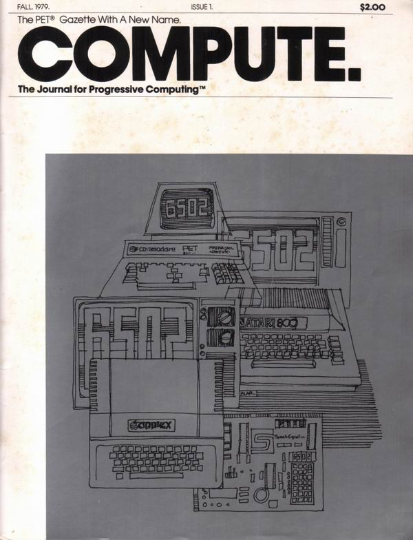 First issue of Compute magazine