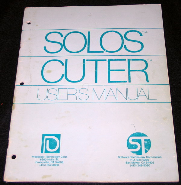 The CUTER manual