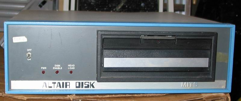 "The ""Altair Disk"" drive (88-DCDD) for the MITS Altair 8800"