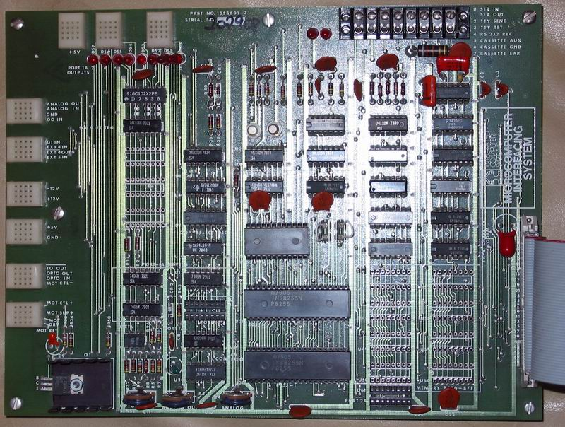 ICS SBC Interface Card