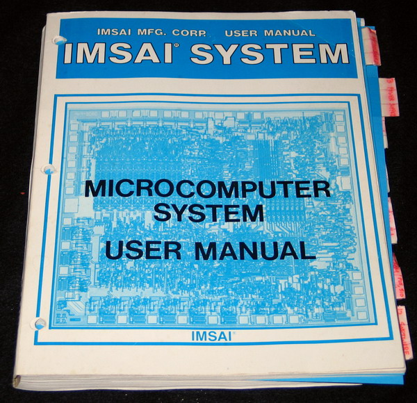 The IMSAI 8080 Manual