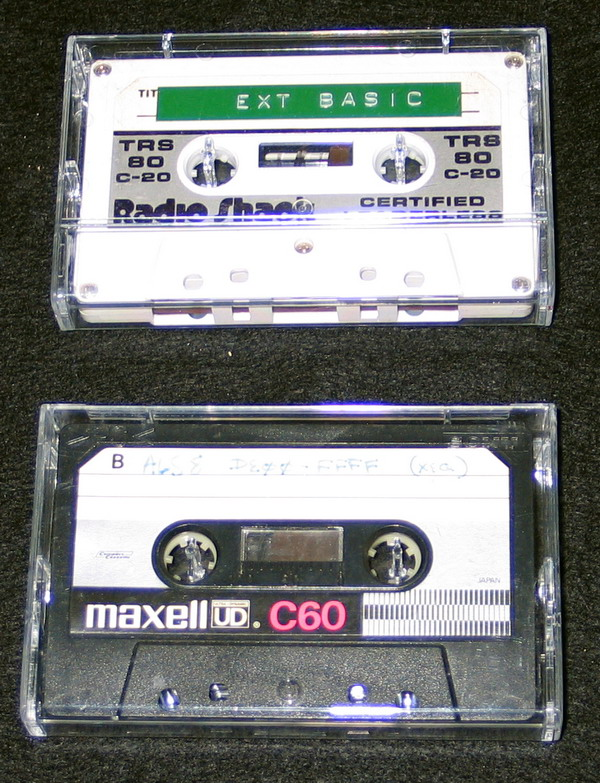 Cassette Tapes with IMSAI Software
