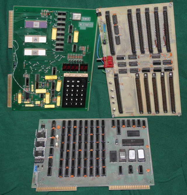 KIM-1 system with expansion and memory