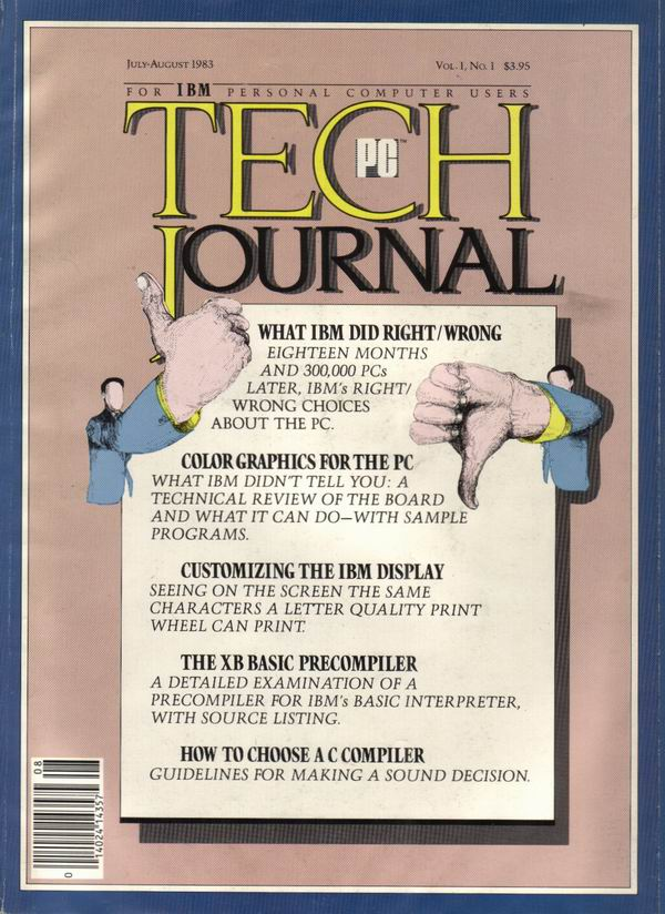 PC Technical Journal Volume 1, Number 1