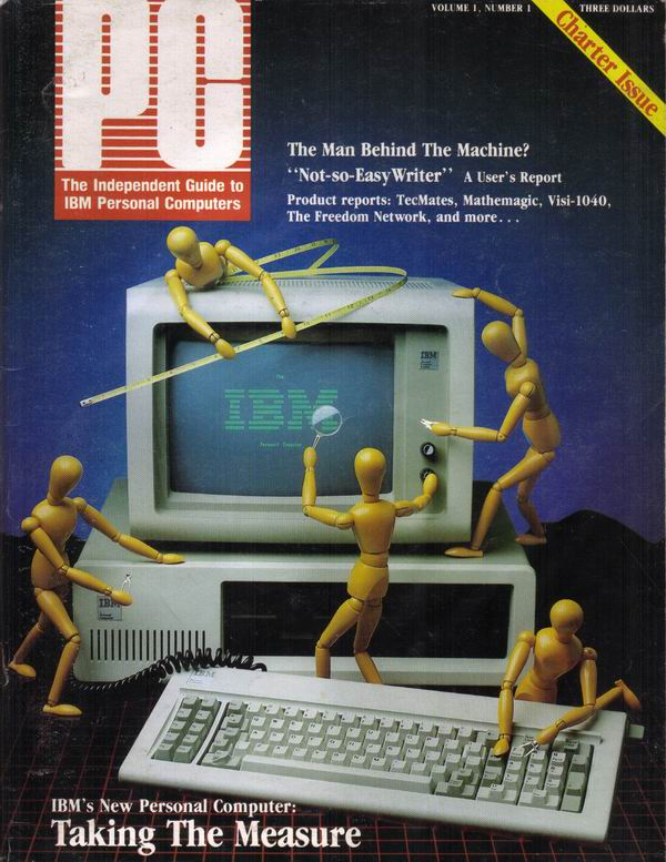 PC Magazine, Volume 1 Number 1