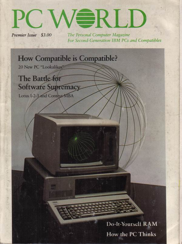 The Premier Issue of PC World