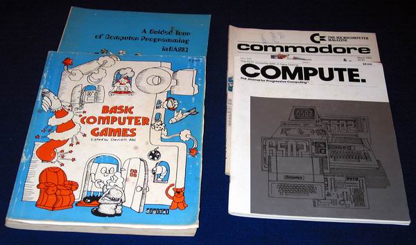 Early newsletters dedicated to the Commodore Pet 2001
