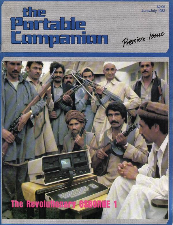 Premier issue of The Portable Companion