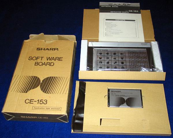 The Sharp PC 1500 Software Board