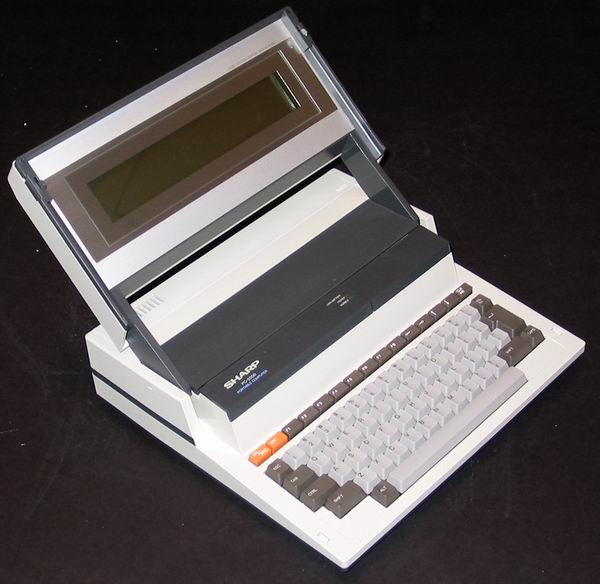 The Sharp PC 5000 computer
