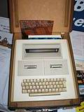 The APL Users Group had several machines on display including this amazing APL portable computer.
