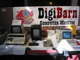 Bruce Damer's Digibarn was represented at the VCF.