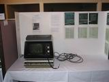 Eric Smith had an amazing vector graphics terminal from DEC on display.