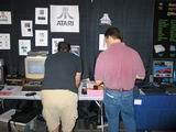 Bill Kendrick's Atari display.