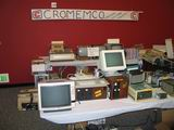 Terry Walker brought along a whole bunch of Cromemco gear to sell.