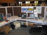 Frank LaRosa's TRS-80 Model 3 ran the SearchLight BBS over the internet