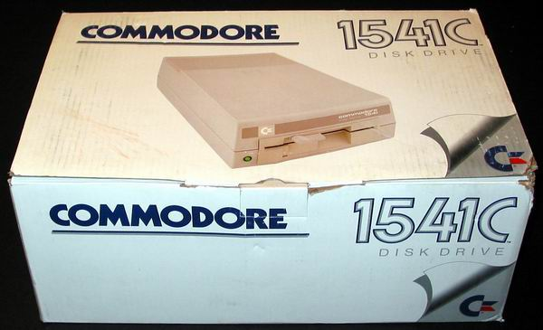 The Commodore 1541 disk drive box