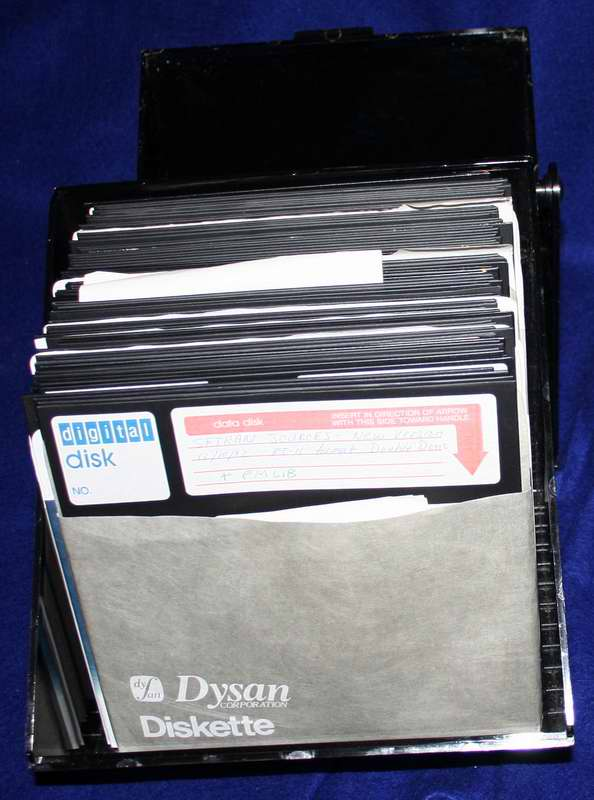 Heathkit H-11 software on 8 inch diskettes