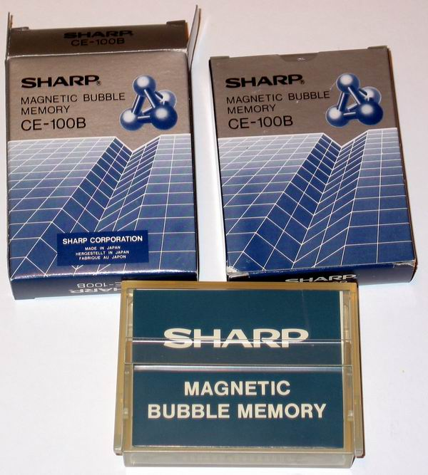 Sharp PC 5000 bubble memory